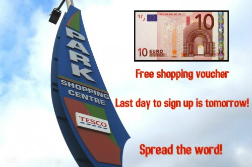 Park Shopping Centre Last Chance Voucher